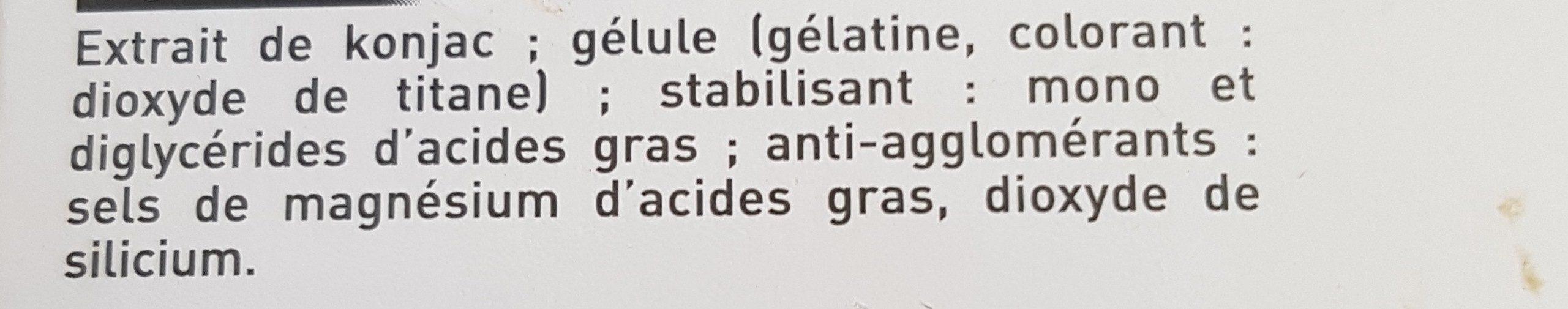 Alinéa Minceur Réduire l'appétit - Ingrédients - fr