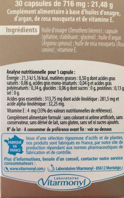 Huile De Beauté - Ingrediënten