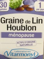 Vitarmonyl Graines De Lin Houblon Gélules - Produit