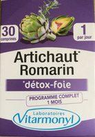 Vitarmonyl Artichaut Romarin Gélules - Product - fr