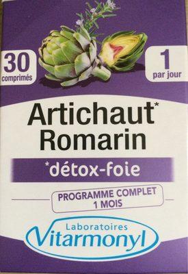 Vitarmonyl Artichaut Romarin Gélules - Product