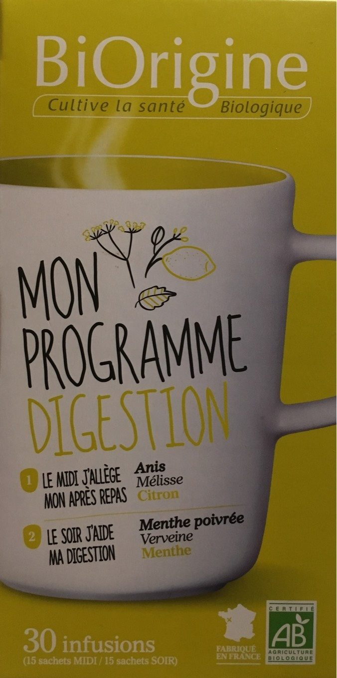 Mon programme digestion - Product