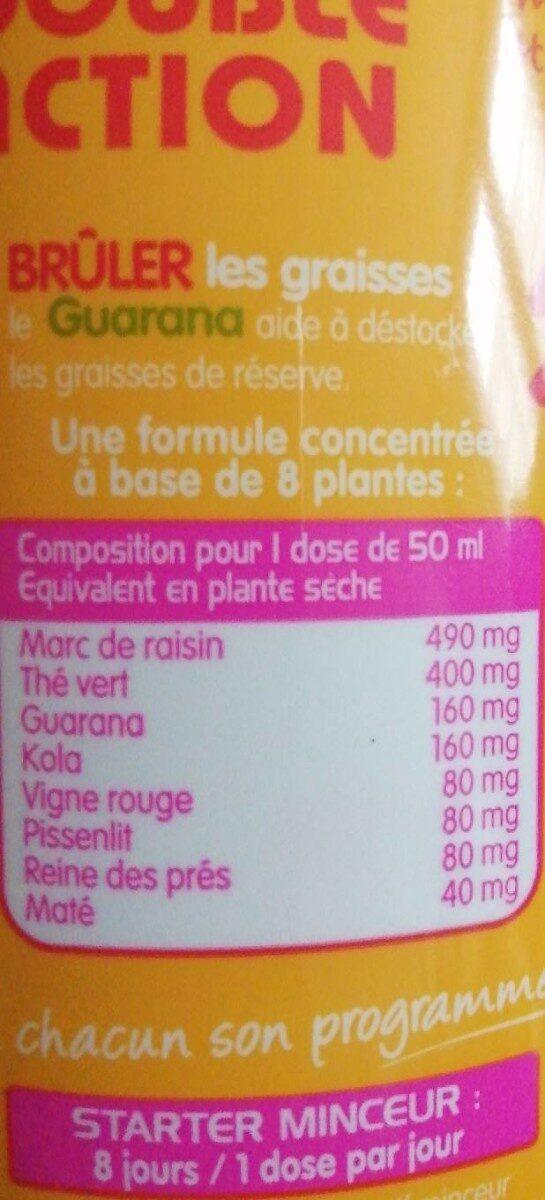 Draineur - Voedingswaarden - fr
