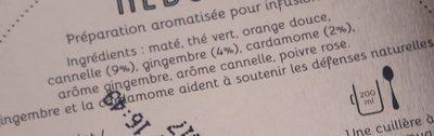 Infusion Reboost - Ingrediënten - fr