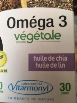 Oméga 3 huile de chia, huile de lin - Product - fr