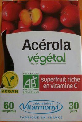 Acérola actif végétal - Product