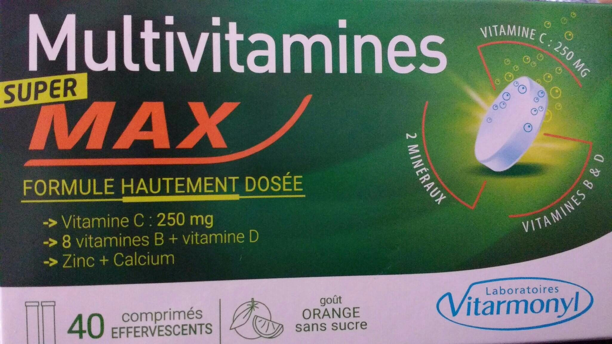 Multivitamines - Produit - fr