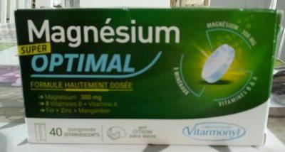 Magnésium super optimal - Product - fr