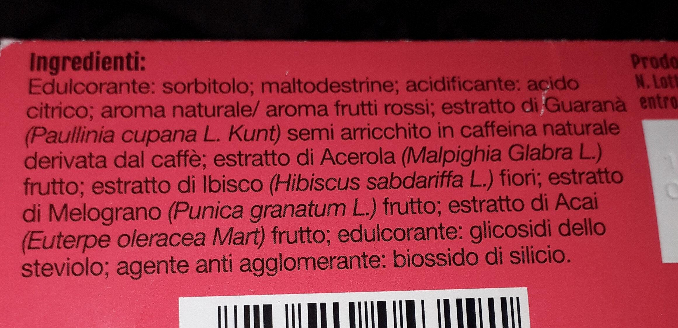 Energia & metabolismo - Ingrediënten - it