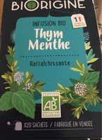 Infusion Thym Menthe - Product
