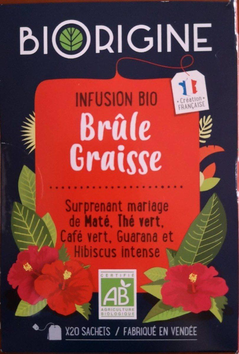infusion bio brûle graisse - Product - fr