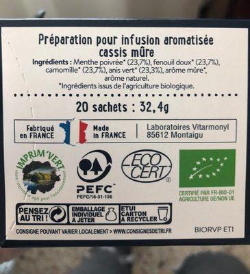 Ventre plat - Inhaltsstoffe - fr