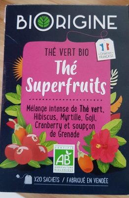 thé superfruits - Product - fr