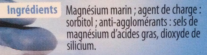 Magnésium Marin équilibre nerveux - Ingrediënten - fr