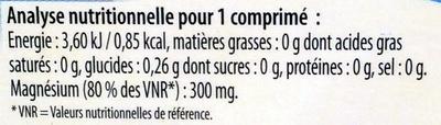 Magnésium Marin équilibre nerveux - Voedingswaarden - fr