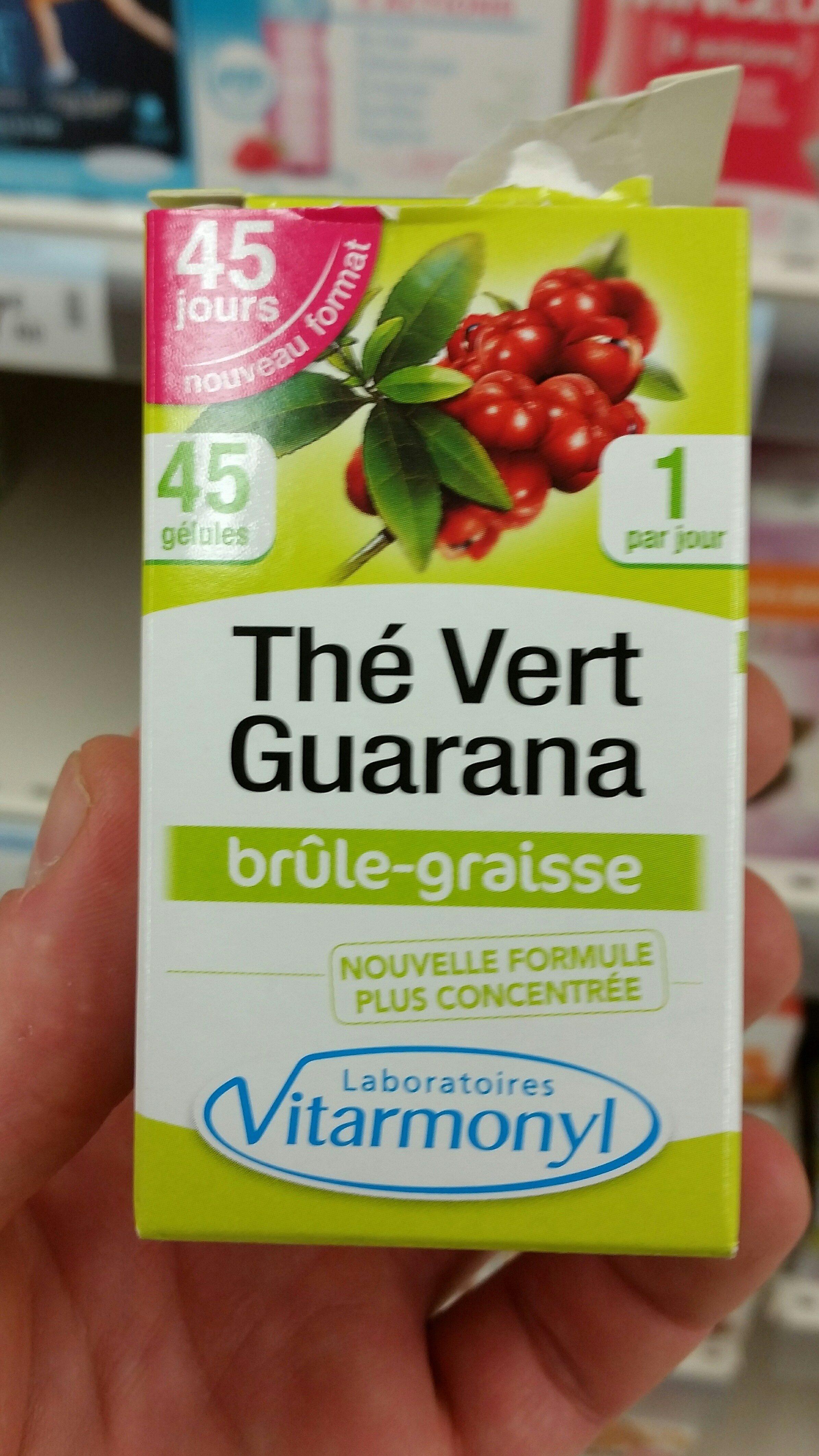 Thé vert guarana - Product - fr
