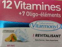12 Vitamines + 7 Oligo-éléments - Product - fr