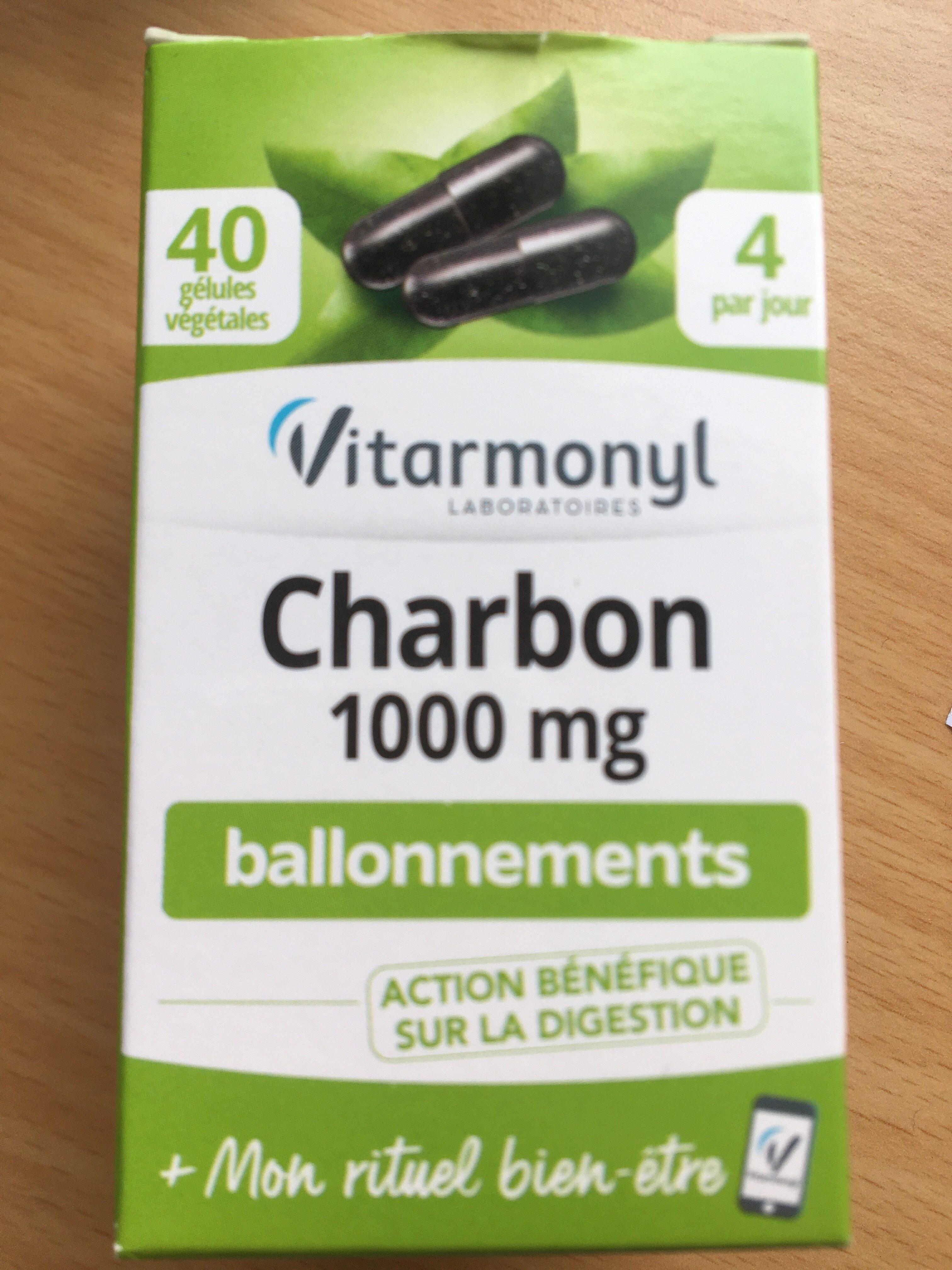 Charbon 1000 mg ballonnements - Produit - fr