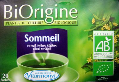 Sommeil BiOrigine - Produit
