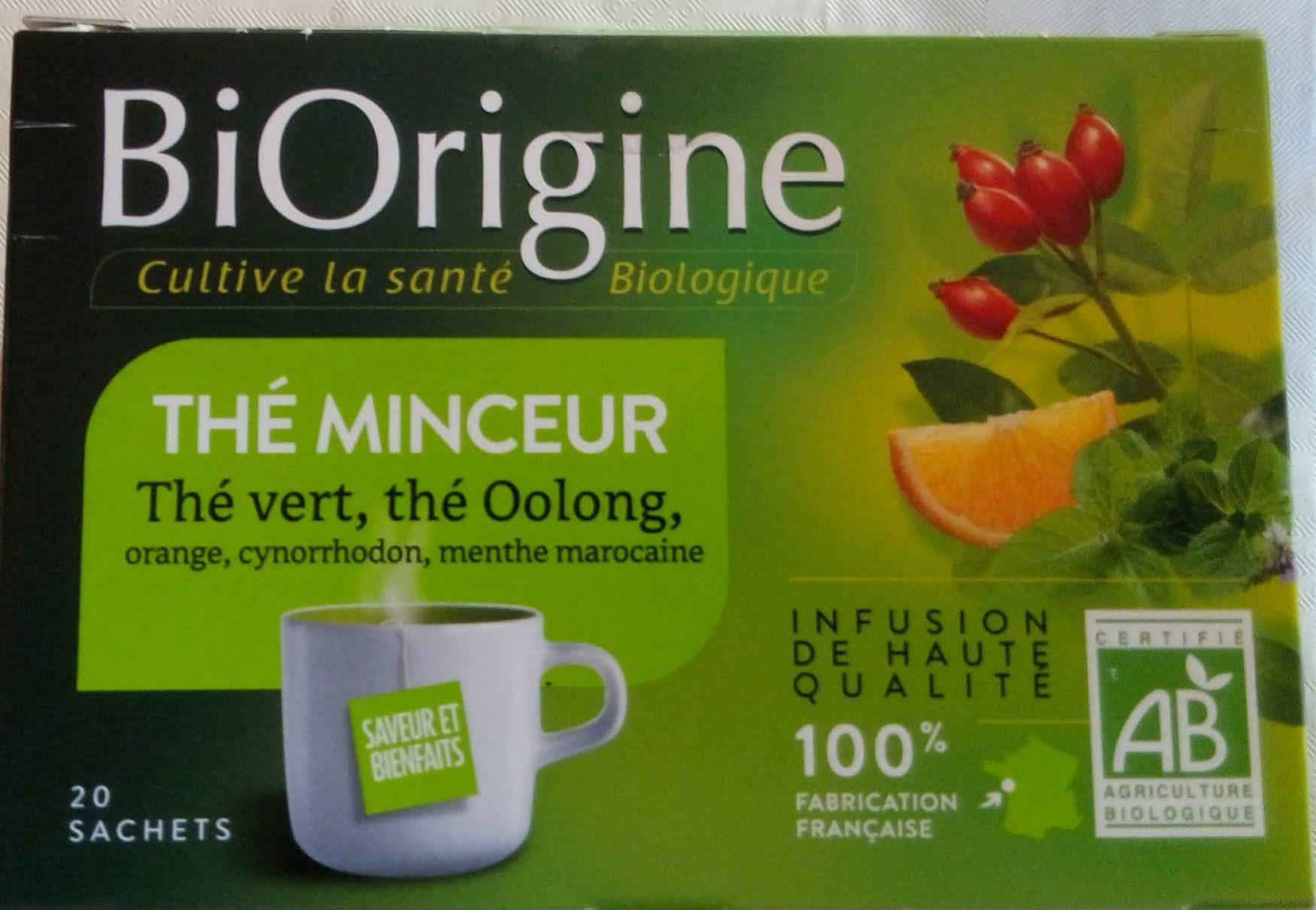 Thé Minceur BiOrigin - Product