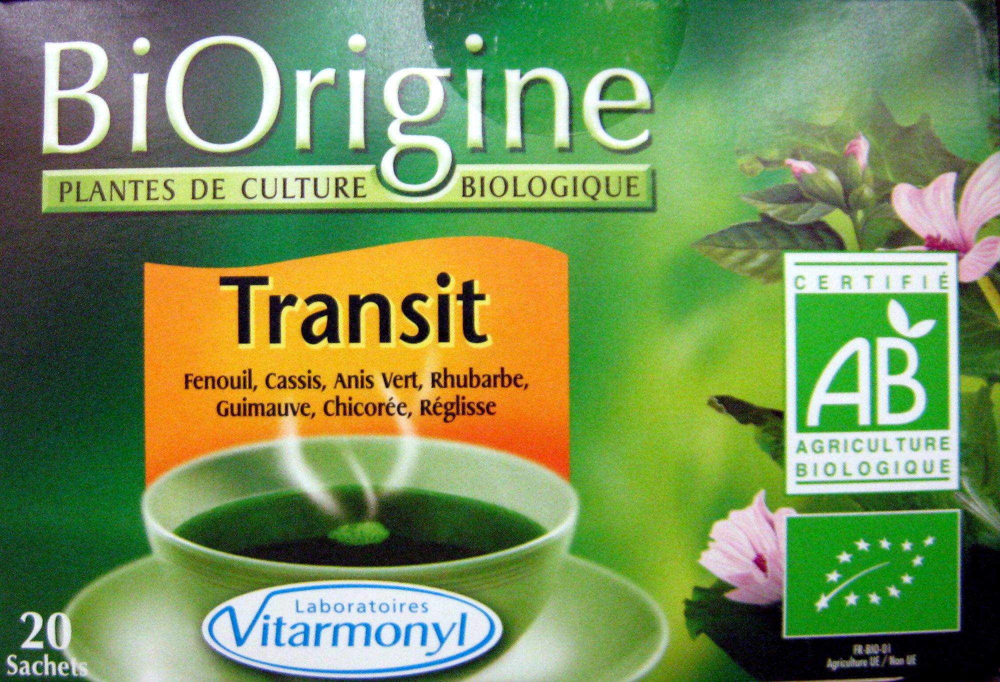 Transit BiOrigine - Product