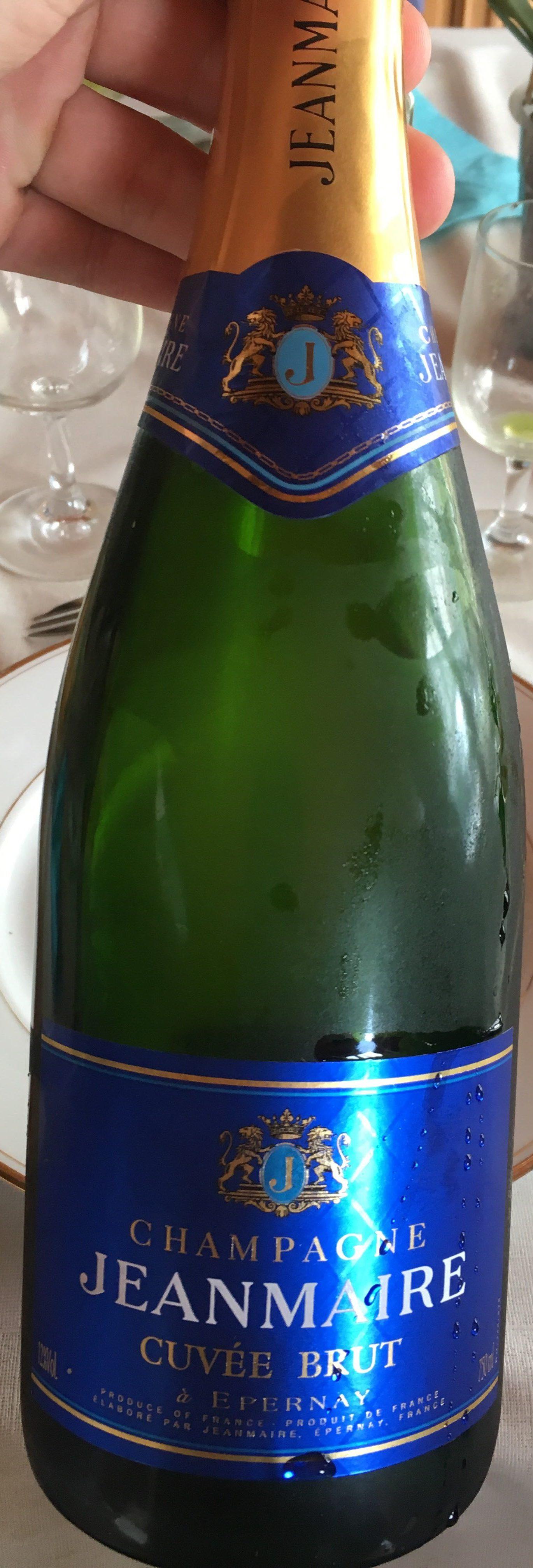 Champagne Jean Maire cuvée brute - Produit