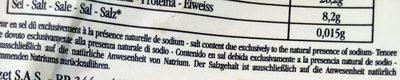 Tablette Chocolat Noir Praslines - 100 G - Mazet - Nutrition facts - fr