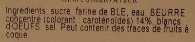 Cigarettes - Ingredients