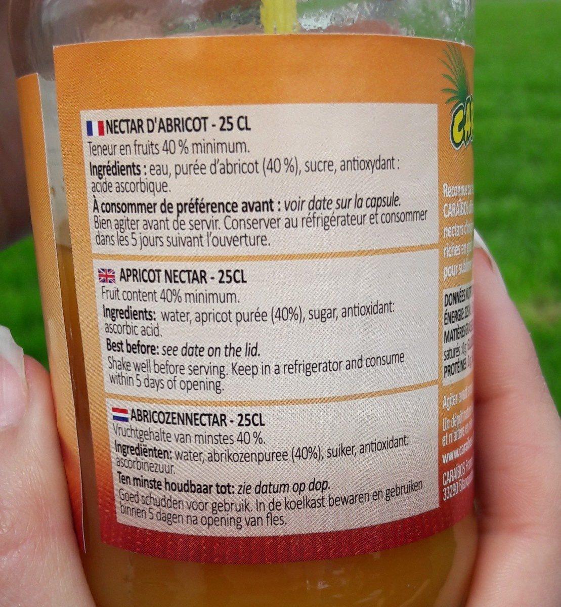 Abricot - Ingrediënten - fr