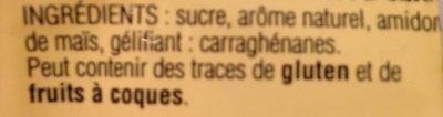 Flan - Ingredients