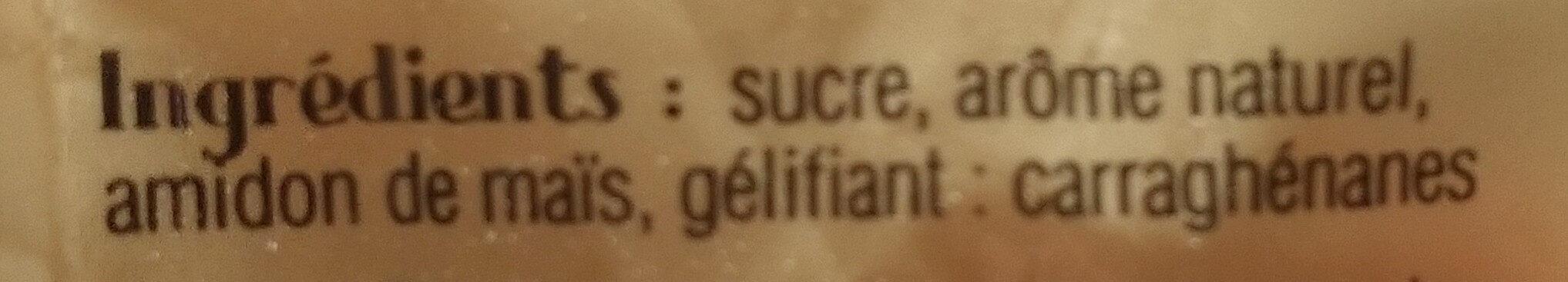Préparation pour entremets saveur caramel au beurre salé - Ingredients - fr