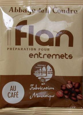 Flan préparation pour entremets au café - Product
