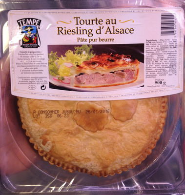 Tourte au Riesling d'Alsace - Product - fr