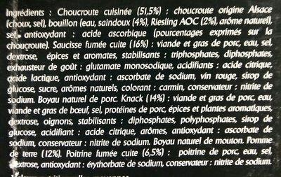 Véritable choucroute d'Alsace - 3