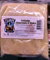 Véritable choucroute d'Alsace - Produit