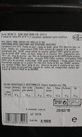 Pâté en croûte franc comtois aux morilles 1tranche - Voedingswaarden - fr