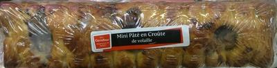 Mini Pâté en Croûte de volaille - Produit - fr