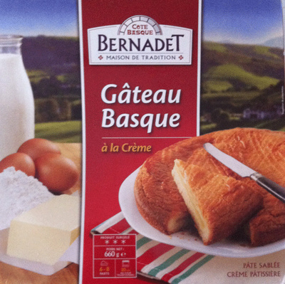 Gateau Basque surgelée - Product - fr