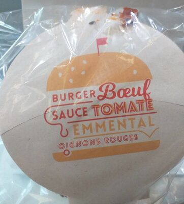Burger boeuf sauce tomate - Product - fr