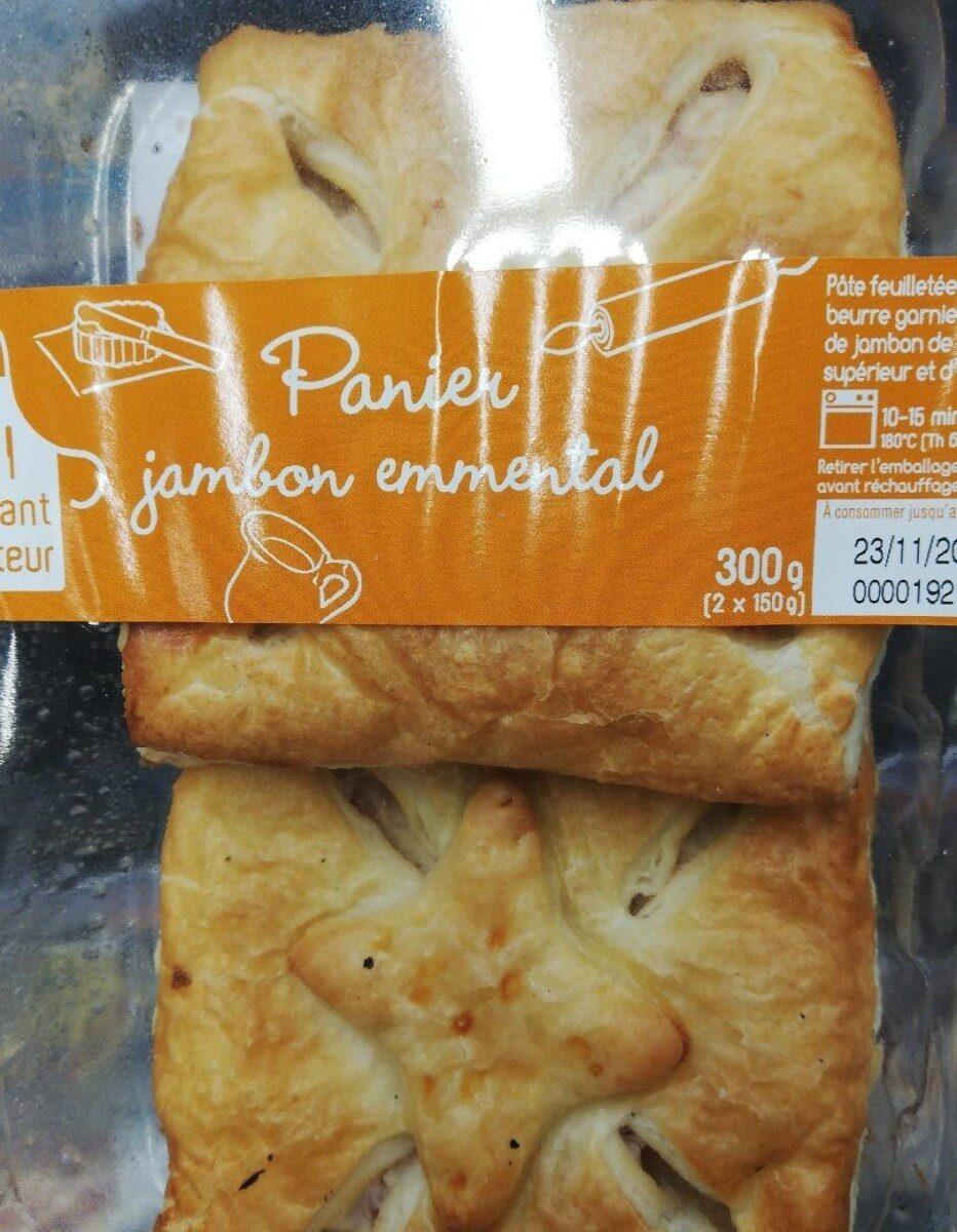Panier jambon emmental - Product - fr