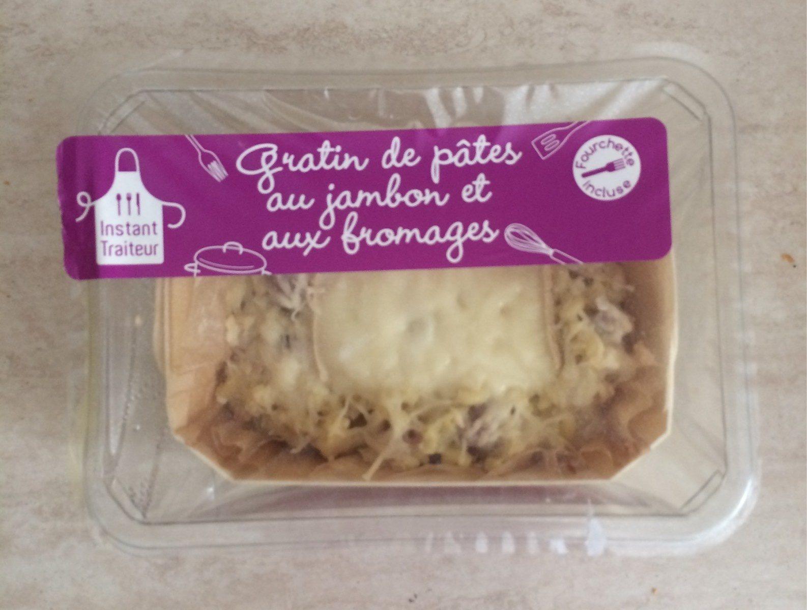 Gratin de pâtes au jambon et aux fromages - Produit