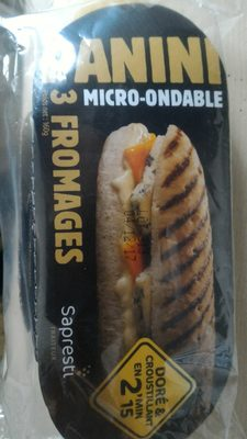 Panini 3 Fromages - Product - fr