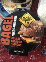 Sapresti traiteur, Bagel poulet cheddar micro ondable, 150 gr - Produit - fr