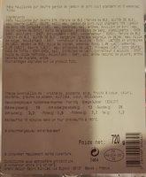 Sapresti Traiteur Tresse jambon fromage les 6 tresses de 120 g - Ingrédients - fr