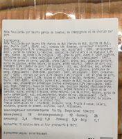 Tresse provençale - Ingredients
