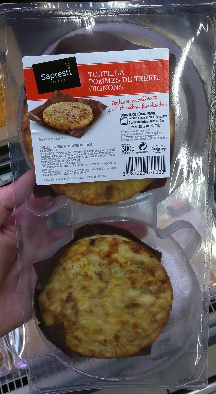 Tortilla Pommes de Terre Oignons - Produit - fr