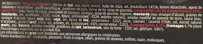 Bagel Bœuf - Ingrédients