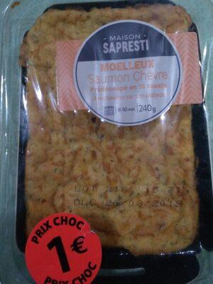 Moelleux saumon chèvre - Product - fr