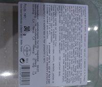 Moelleux saumon chèvre - Nutrition facts - fr