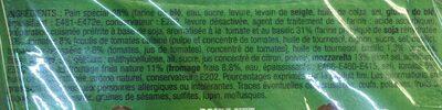 Veggie burger - Ingredients - fr